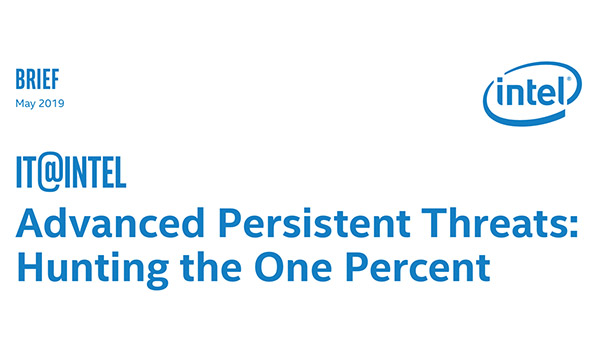 Advanced Persistent Threats: Hunting the 1 Percent